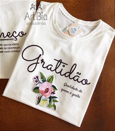 tshirt Gratidão