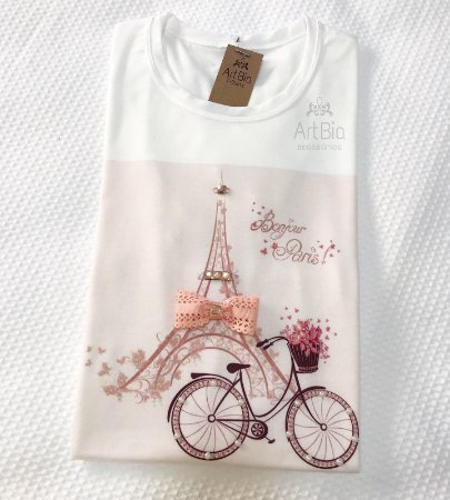 Tshirt bonjour paris