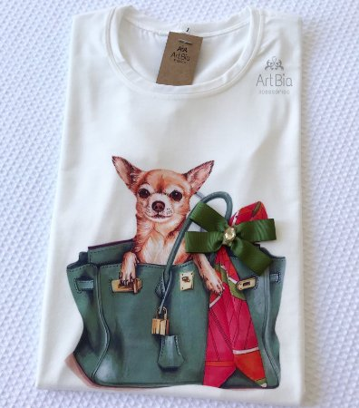 Tshirt Dog Bolsa