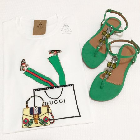 Tshirt Gucci style