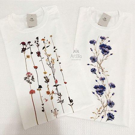 Tshirt galhos florais