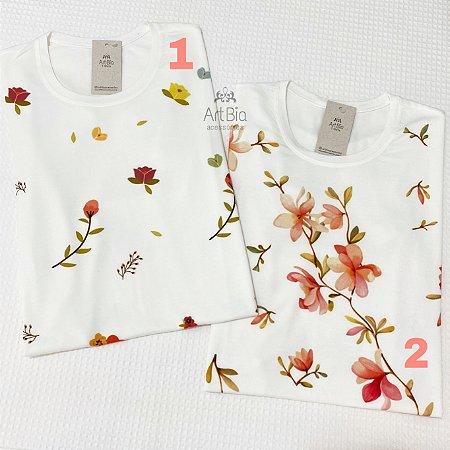 Tshirt florais