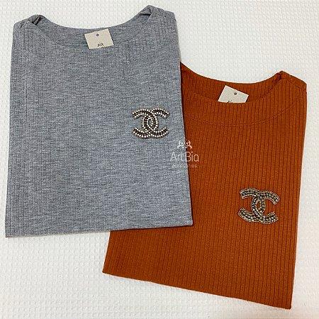 Tshirt inspired chanel