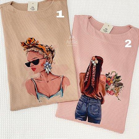 Tshirt Girls canelada