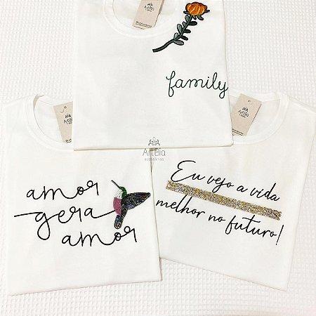 Tshirt Family, Amor, Eu vejo
