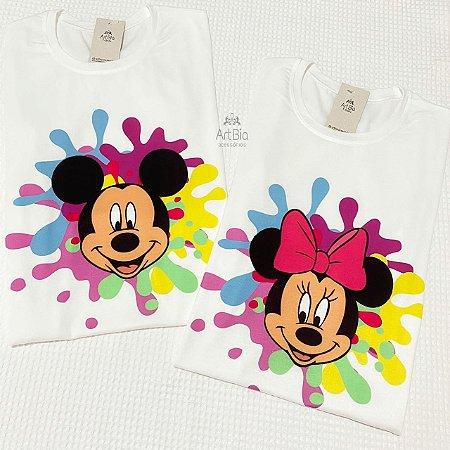 Tshirt Mickey e Minnie color