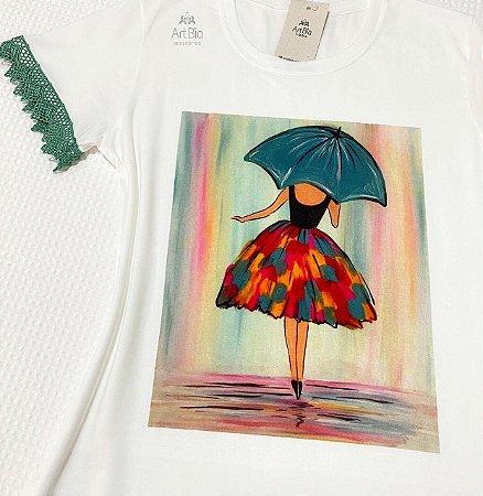 Tshirt Dança na chuva