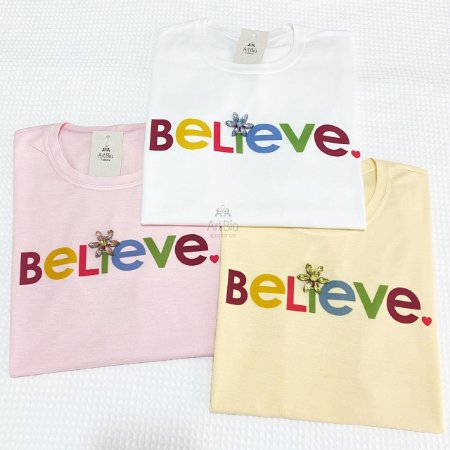 Tshirt  Believe Color