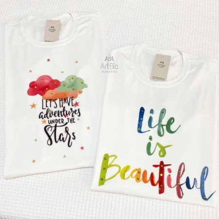 Tshirt Let's Have e Life Is Beautiful
