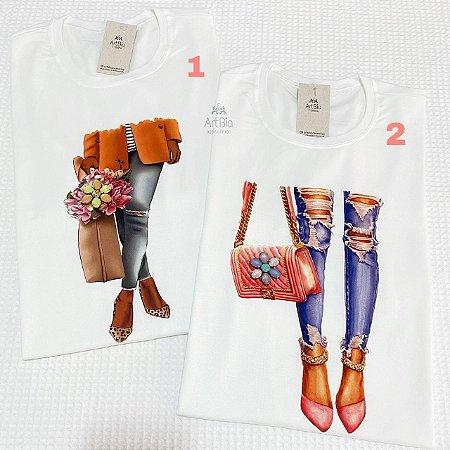 Tshirt Calças Jeans