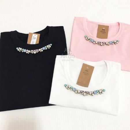 Tshirt Pedrarias Candy Color