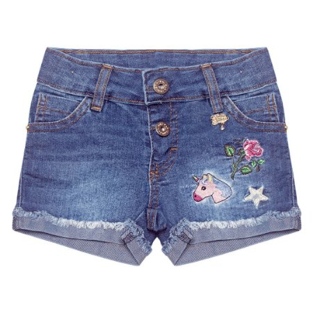 Short Jeans Unicórnio