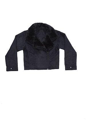 Jaqueta Camurça com pele