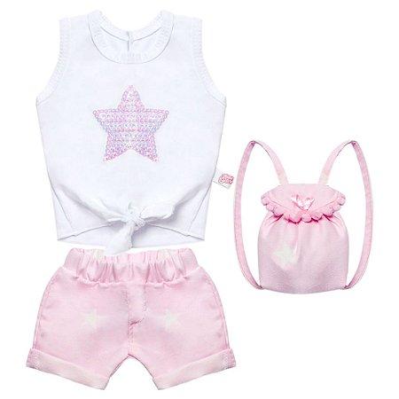 Conjunto Super Stars para bonecas de até 46cm Julia Silva By Anuska