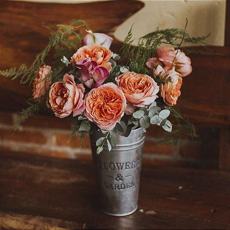 Arranjo de Garden Rose