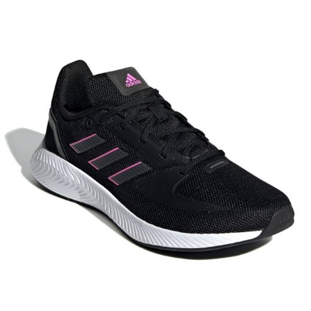 Tenis Adidas Runfalcon 2.0 Preto/Rosa Feminino