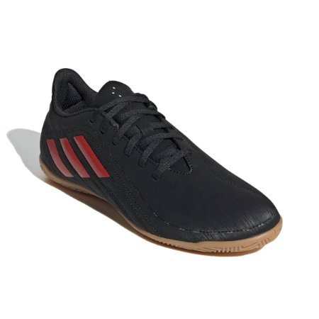 Chuteira Futsal Adidas Deportivo Preto/Vermelho