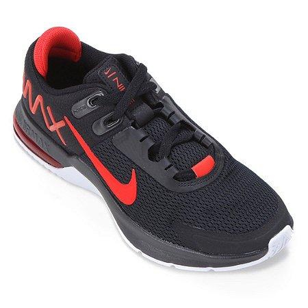 Tenis Nike Air Max Alpha Trainer 4 Preto/Vermelho Masculino