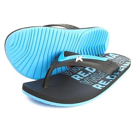 Sandália Kenner Hi-Tide Re.Defina Azul/Preto Masculino