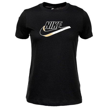 Camiseta Nike Nsw Ftra Preto Feminino