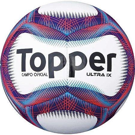BOLA CAMPO TOPPER ULTRA IX BCO AZL - 10K Sports a62059f4e6b6b