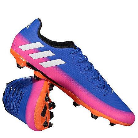 61f3e6d031b08 Chuteira Campo Adidas Messi 16.3 FG - 10K Sports