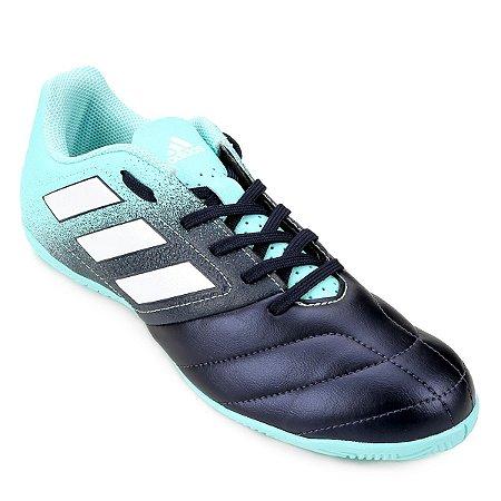 Tênis Salão Adidas Ace 17.4 Marinho/Verde Água