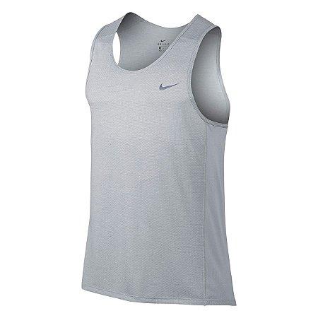 Regata Nike Breathe Miler Tank Cool Cinza