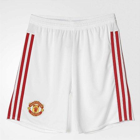 Bermuda Futebol Adidas Manchester United - 10K Sports 9535738594fd8