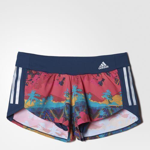 3e84743fa Short Adidas SN Salinas Print Azul/Rosa