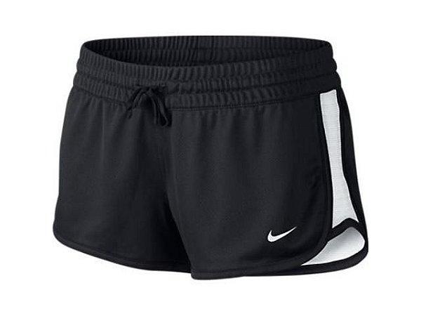 Short Nike Gym Reversible Preto/Branco