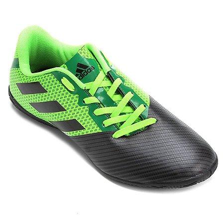 Tenis Salão Adidas Artilheira II Preto   Verde - 10K Sports 8891e9a0de328
