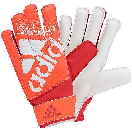 5243277881 Luva Goleiro Adidas X Lite Laranja Branca - 10K Sports