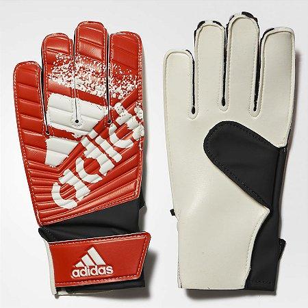 Luva De Goleiro Adidas X Lite Vermelho   Branco - 10K Sports 0165b08aa2