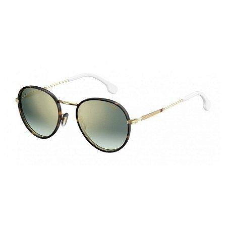 aefc3f6a78af2 Óculos Carrera 151 S Dourado Branco - 10K Sports