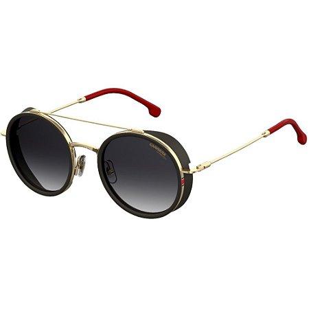 0ca4a20249e8a Óculos Carrera 167 S Preto Dourado Vermelho - 10K Sports