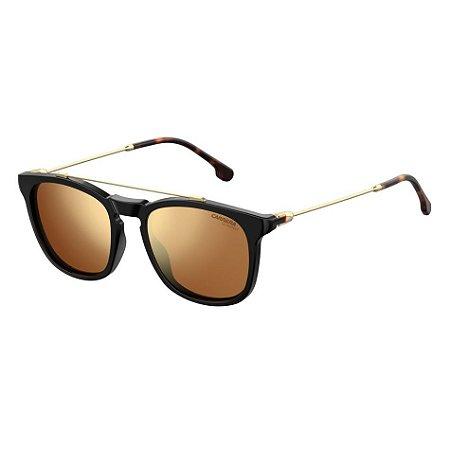 83fc3f36cc10f Óculos Carrera 154 S Preto Dourado - 10K Sports