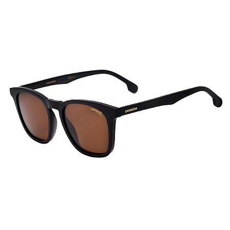 39748008e1611 Óculos Carrera 143 S Preto Marrom - 10K Sports