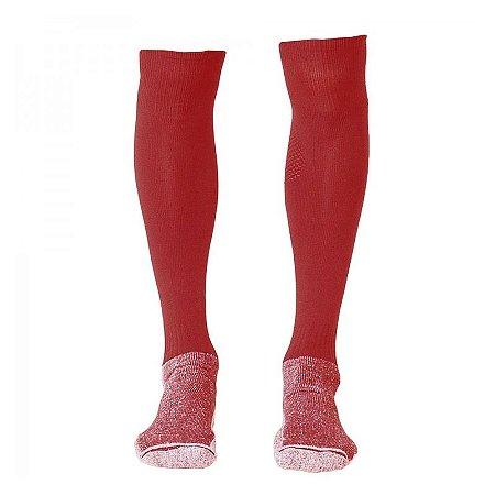 e2a3674145 Meião Topper Boleiro Vermelho Branco - 10K Sports