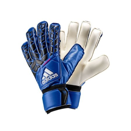 Luva de Goleiro Adidas Ace FS Replique Azul Preto - 10K Sports d399bf27ae9