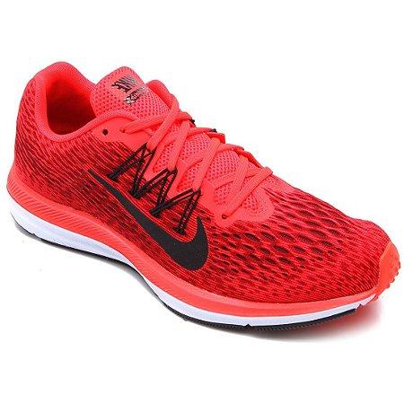 ecb58dcfcce Tenis Nike Zoom Winflo 5 Vermelho Preto - 10K Sports