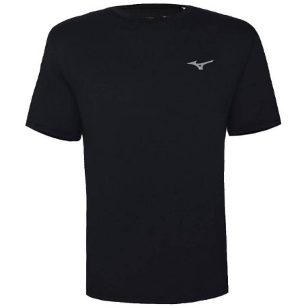 Camiseta Mizuno New Logo Preto