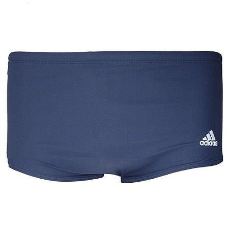 Sunga Adidas 3S Wide Marinho/Branco