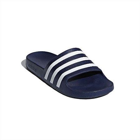 Chinelo Adidas Adilette Aqua Azul/Branco