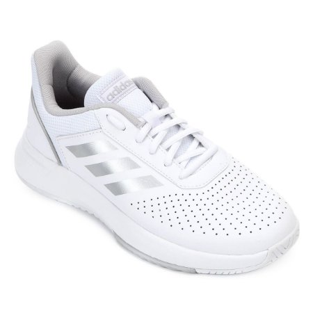 Tênis Adidas Courtsmash W Branco - 10K Sports 38d309e95fcff