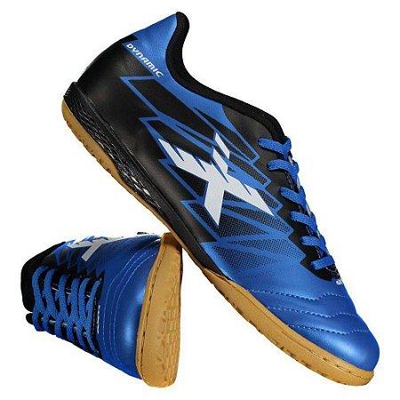 Chuteira Futsal Oxn Dynamic Az/Pr
