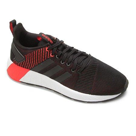 Tenis Adidas Questar Byd Preto/Verm