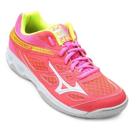Tenis Mizuno Thunder Blade Rosa/Amarelo