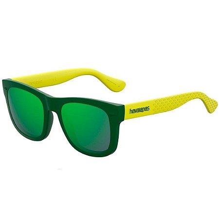Óculos Havaianas Paraty P Verde/Amarelo