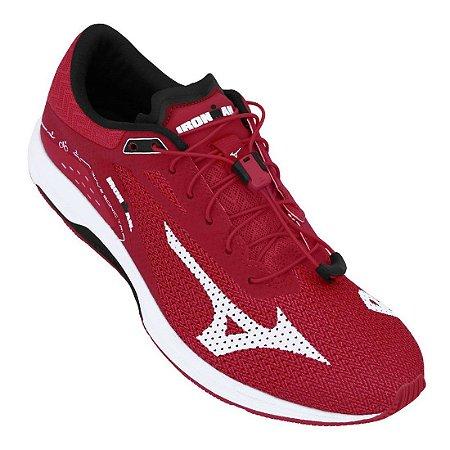 Tenis Mizuno Wave Sonic Tri Vermelho/Preto